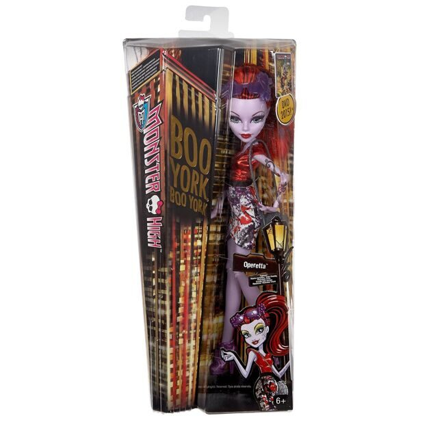 Кукла Monster High Оперетта Бу Йорк, Бу Йорк