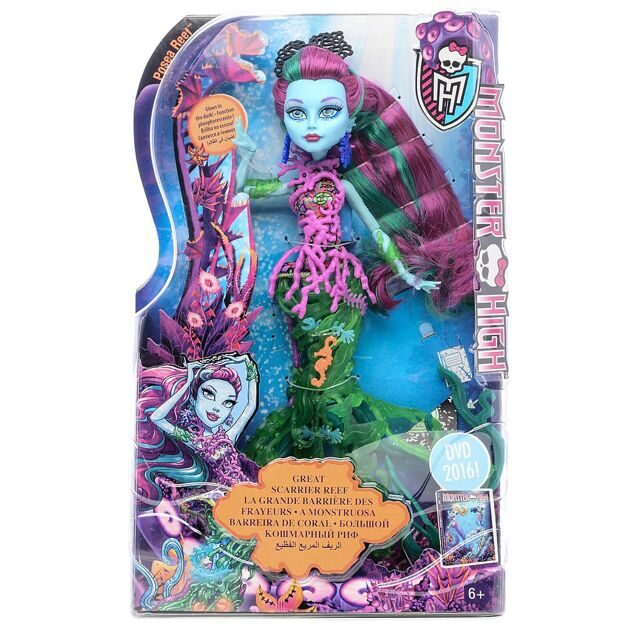 Кукла Monster High Поси Риф Большой Кошмарный Риф