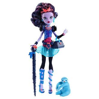 Кукла Monster High Джейн Булитл базовая с питомцем