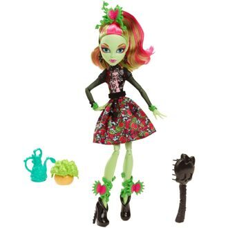 Кукла Monster High Венера Макфлайтрап Мрак и Цветение