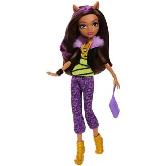Кукла Monster High Клодин Вульф Первый день в школе