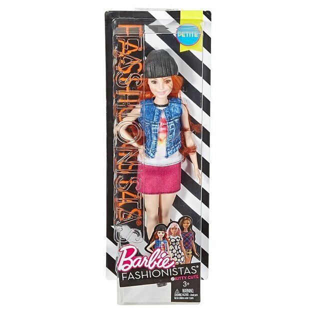 Кукла Barbie Fashionistas DVX69