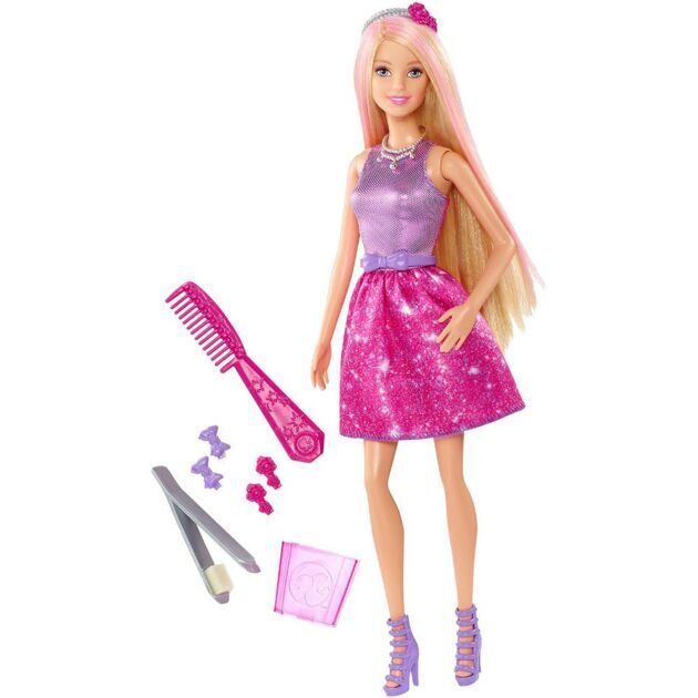 Кукла Barbie Color and Style Doll CFN47