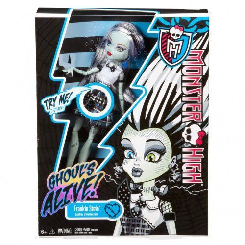 Кукла Monster High Френки Штейн Она живая!