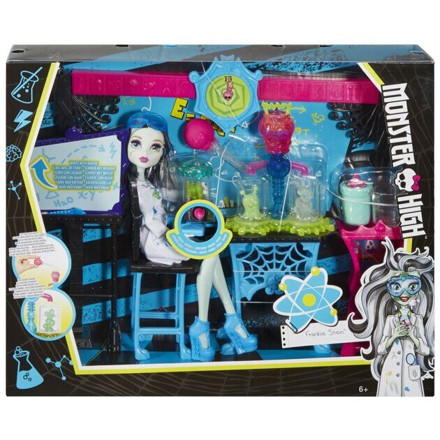 Набор Monster High Класс науки Фрэнки Штейн
