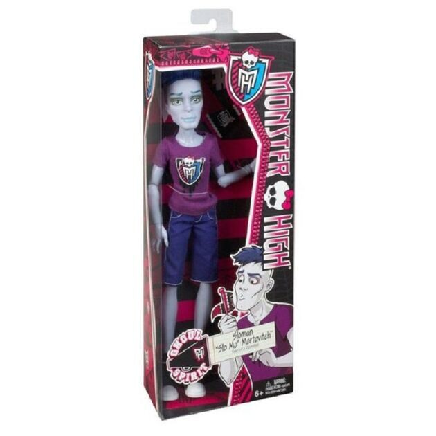 Кукла Monster High Слоу Мо Командный дух