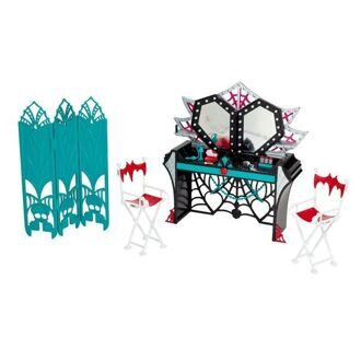 Набор Monster High Гримерка Страх, Камера, Мотор