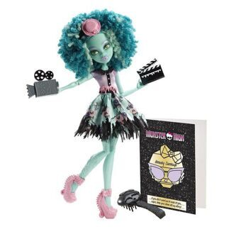Кукла Monster High Хани Свомп Страх, Камера, Мотор