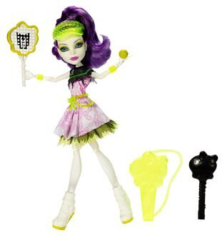 Кукла Monster High Спектра Вондергейст Монстры спорта