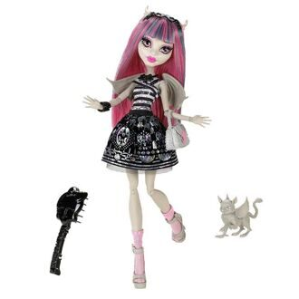 Кукла Monster High Рошель Гойл Базовая с питомцем
