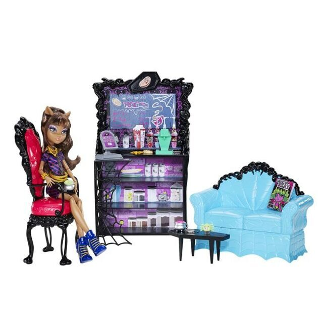 Набор Monster High Коффин Бин с Клодин Вульф