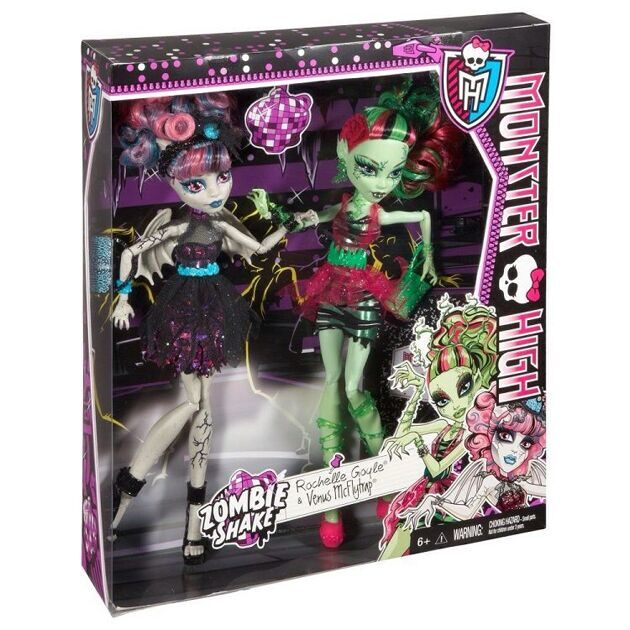Набор кукол Monster High Венера МакФлайтрап и Рошель Гойл - Танцы Зомби
