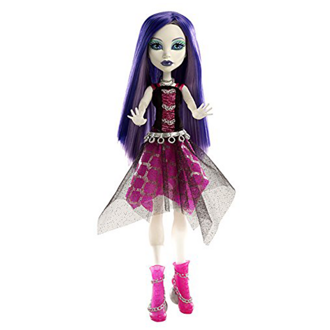 Кукла Monster High Спектра Вондергейст Она живая!