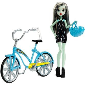 Набор Monster High Фрэнки Штейн На велосипеде